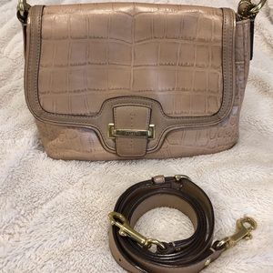 Coach Taylor Exotic Leather Purse F25331